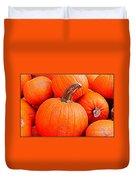 Small Pumpkins Duvet Cover
