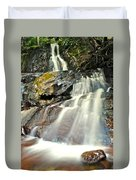 Smoky Mountain Falls Duvet Cover