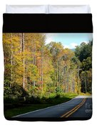 Smoky Mountain Road Trip Duvet Cover