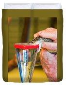 Snake Venom Extraction Duvet Cover