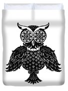 Sophisticated Owls 1 Of 4 Duvet Cover