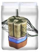 Spinal Cord Duvet Cover