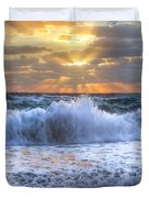 Splash Sunrise Duvet Cover