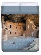 Spruce Tree House Mesa Verde National Park Duvet Cover
