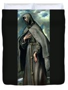 St Francis Of Assisi Duvet Cover