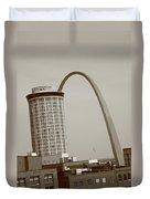 St. Louis - Gateway Arch Duvet Cover