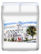 St Pauls Episcopal Church  Duvet Cover