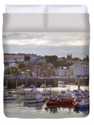 St Peter Port - Guernsey Duvet Cover