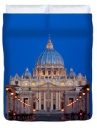 St Peter's Basilica Duvet Cover