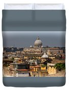 St Peters Basilica Duvet Cover