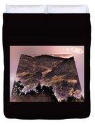 Starry Night Landscape Duvet Cover
