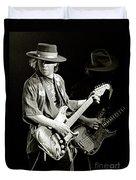 Stevie Ray Vaughan 1984 Duvet Cover