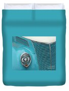 Street Car  Blue Grill With Headlight Duvet Cover