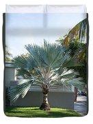 Street Scenes In Key West Duvet Cover