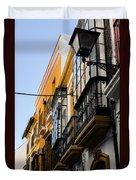 Streets Of Seville Duvet Cover