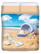 Summer Beach Duvet Cover