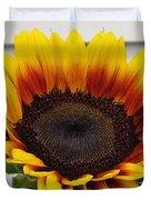 Sunflower Named The Joker Duvet Cover