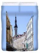 Tallin Estonia Duvet Cover
