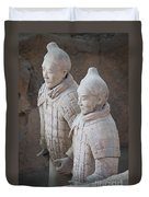 Terracotta Warriors, China Duvet Cover