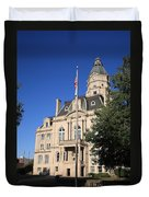 Terre Haute Indiana - Courthouse Duvet Cover