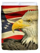 The American Eagle Duvet Cover