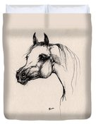 The Arabian Horse Duvet Cover