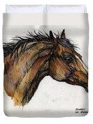 The Bay Horse Duvet Cover