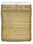 The Bill Of Rights, 1789 Duvet Cover