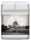 The Castillo In Chichen Itza Duvet Cover