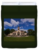The Castle Of Schwerin Duvet Cover