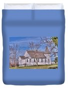 The Church At The Site Of The Old Confederate Soldiers Home Duvet Cover