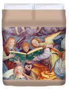 The Concert Of Angels Duvet Cover by Gaudenzio Ferrari