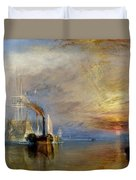 The Fighting Temeraire Duvet Cover