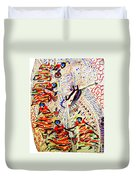 The Five Wise Virgins Duvet Cover