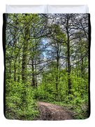 The Forest Path Duvet Cover