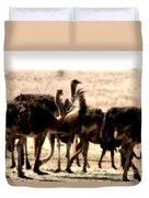The Gathering Place Duvet Cover