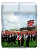 The Going Band From Raiderland Duvet Cover by Mae Wertz