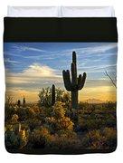 The Golden Southwest  Duvet Cover