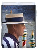 The Gondolier Duvet Cover