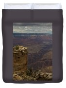 The Grandest Of Canyons Duvet Cover