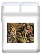 The Great Deluge Duvet Cover