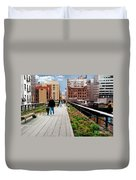 The High Line Urban Park New York Citiy Duvet Cover