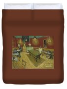 The Night Cafe Duvet Cover