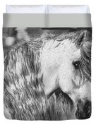 The White Horse Duvet Cover