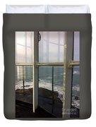 Through Lighthouse Window  Duvet Cover