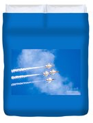 Thunderbirds In Formation  Duvet Cover