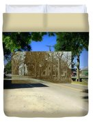 Thursday Thrift Shop And The Commons In Little Compton Rhode Island Duvet Cover