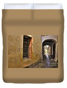 Tight Alley Duvet Cover