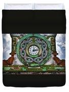Time Duvet Cover by Skip Hunt