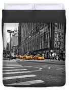 Time Square Duvet Cover